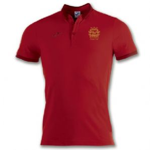 North Kildare Cricket Club Bali Red Polo Shirt - Adults 2018